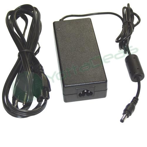 Toshiba Portege M800-10F AC Adapter Power Cord Supply Charger Cable DC adaptor poweradapter powersupply powercord powercharger 4 laptop notebook