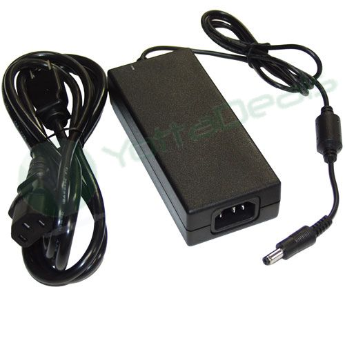Toshiba Satellite Pro L350-S1001X AC Adapter Power Cord Supply Charger Cable DC adaptor poweradapter powersupply powercord powercharger 4 laptop notebook